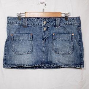 American Eagle Jean Skirt.